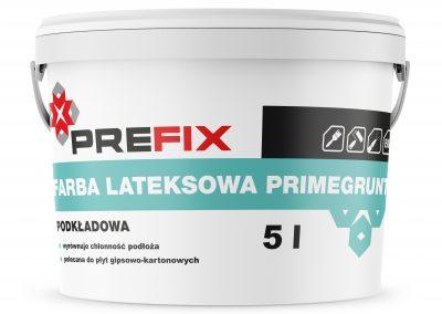 Farba wewnętrzna podkładowa lateksowa PRIMEGRUNT